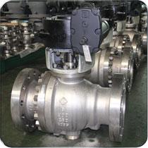 国家重点新产品—金属硬密封高温球阀