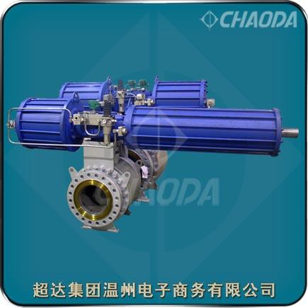 国家重点新产品—煤气化装置用锁渣阀