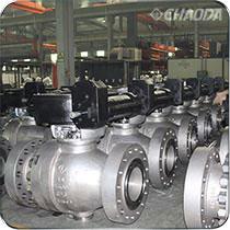 中国机械工业科学技术二等奖-灰水黑水灰浆及煤浆用特种金属硬密封球阀