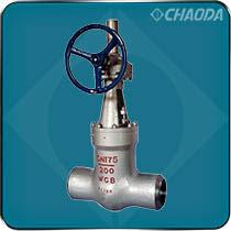 电站阀门用于火力发电厂水、汽道上,阀体材料有碳钢和铬钼钒钢两种,密封面堆焊钴基合金