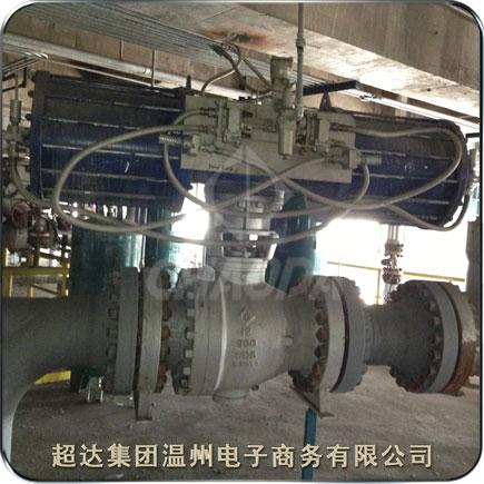 煤化工产业的煤气化装置用阀门