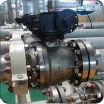 固定球阀用于截断或接通管路中的介质,广泛应用于化工、石油、天然气、冶金等行业。