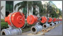 国家重点新产品-煤气化装置锁渣阀