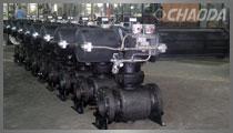 国家重点新产品-金属硬密封高温球阀