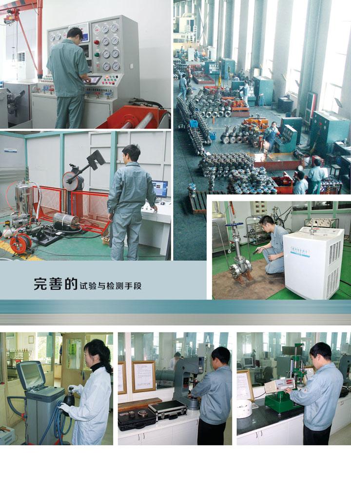 省级高新技术特色产业阀门中试基地