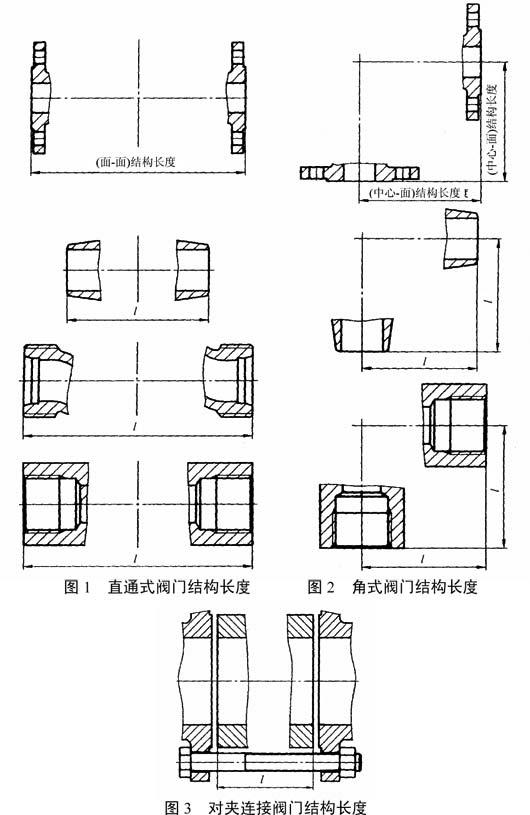 gb/t 12221-2005 金属阀门 结构长度