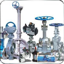 阀门主要产品有各种钢制平板闸阀、球阀、闸阀、蝶阀、截止阀、止回阀、调节阀、电站阀、其他阀门等